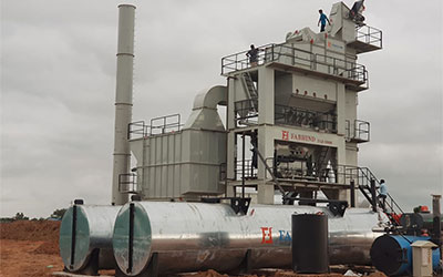 asphalt batch mix plant at best price in india