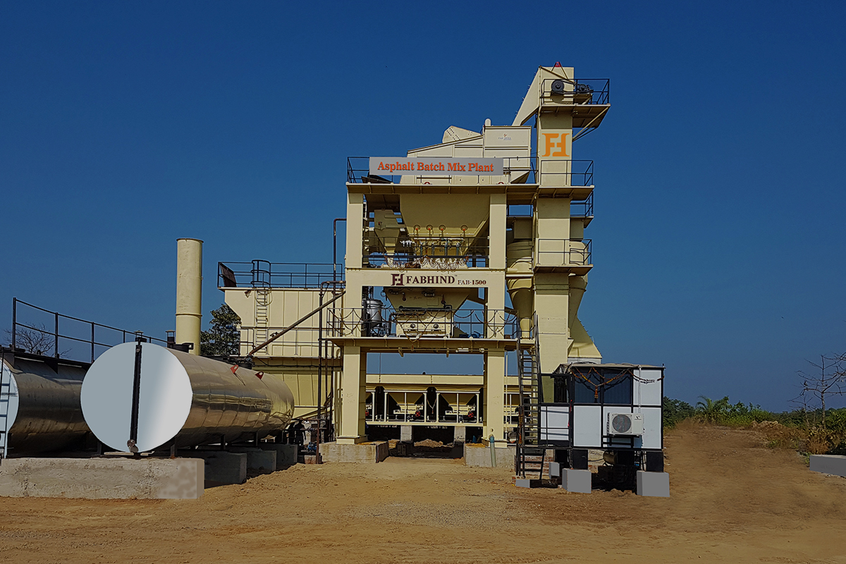 Asphalt Plant Manufacturers India