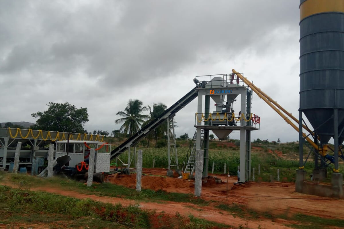Concrete Batching/ Mixing plants