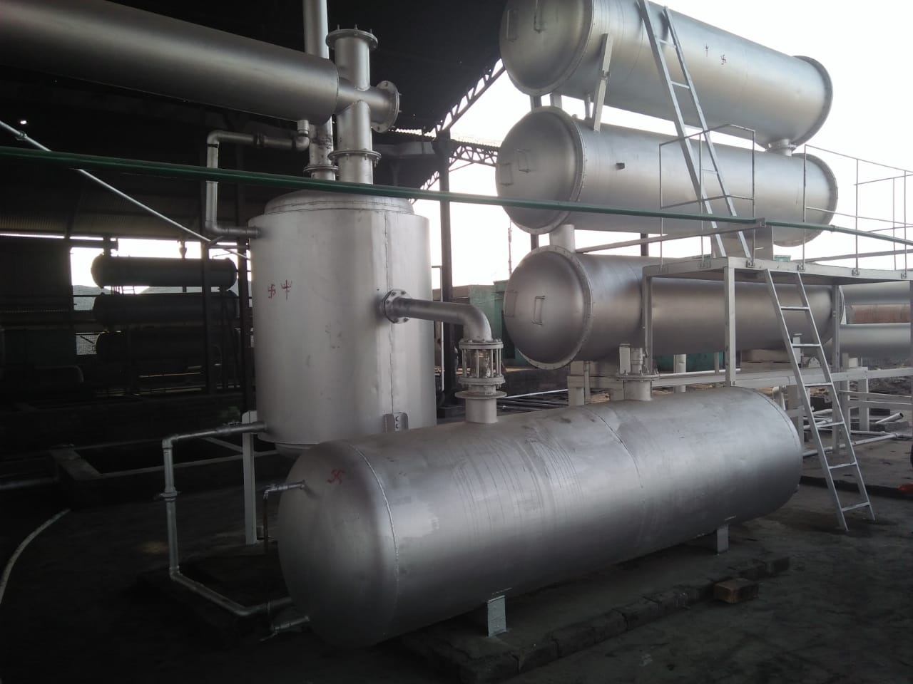 Tyre Pyrolysis Plant | Tyre Recycling Plant | Pyrolysis